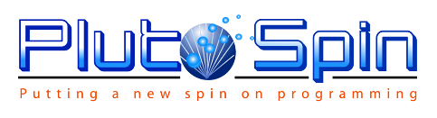 PlutoSpin- Putting a New Spin on Programming
